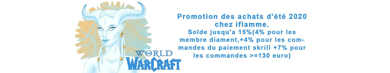 World Of Warcraft Europe et Classic(Promotion 5%)